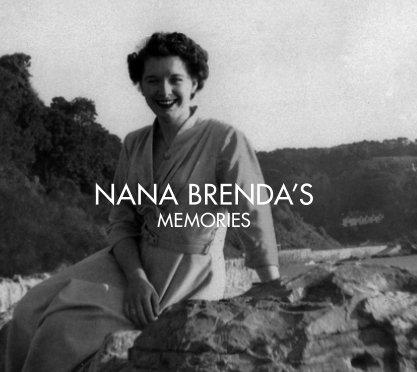 Nana Brenda's Memories book cover