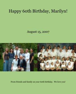 Happy 60th Birthday, Marilyn! book cover