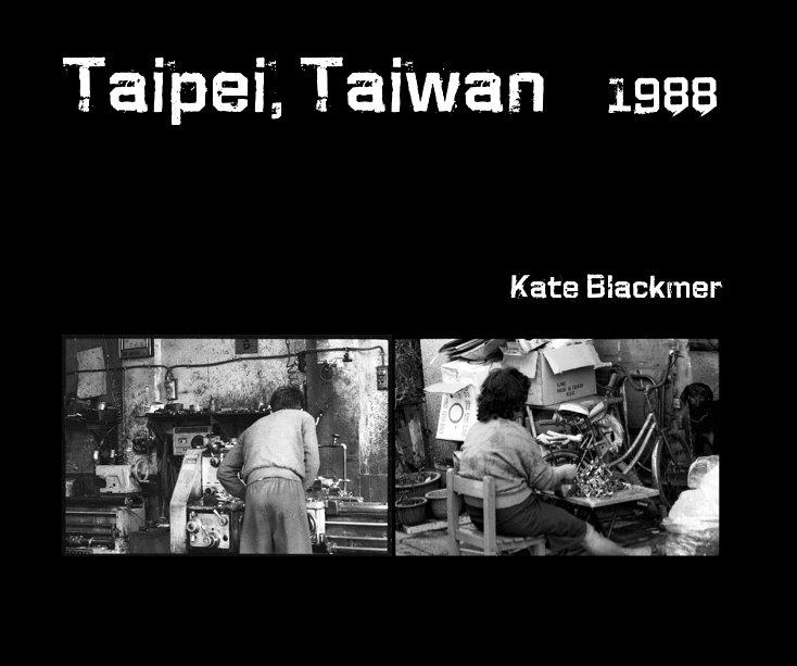 View Taipei, Taiwan 1988 by Kate Blackmer
