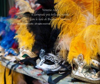 Venezia, il carnevale più bello del mondo (con le isole di Burano e Murano) book cover