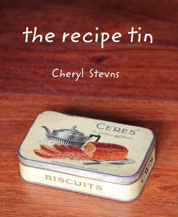 View the recipe tin by Cheryl Stevns