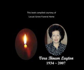 Vera Binam Layton book cover