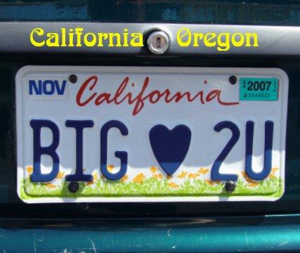 California         Oregon book cover