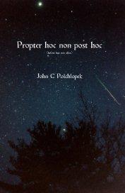 Propter hoc non post hoc book cover