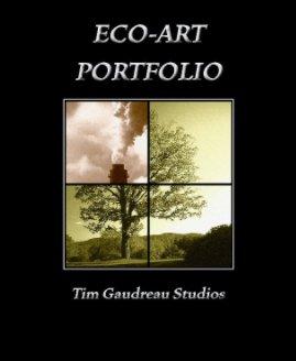 Eco-Art Portfolio book cover