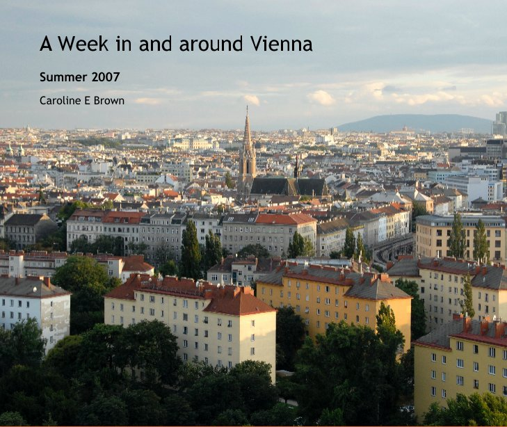 View A Week in and around Vienna by Caroline E Brown