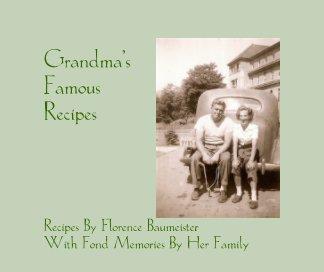 Grandma's Famous Recipes book cover