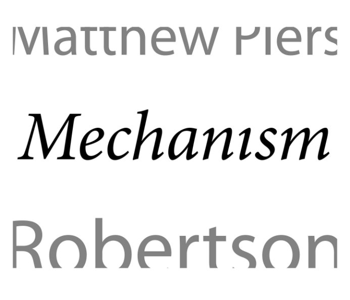 View Mechanism by Matthew Piers Robertson