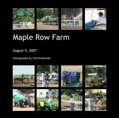 Maple Row Farm book cover