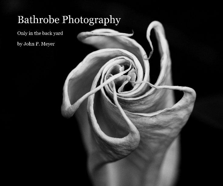 View Bathrobe Photography by John P. Meyer