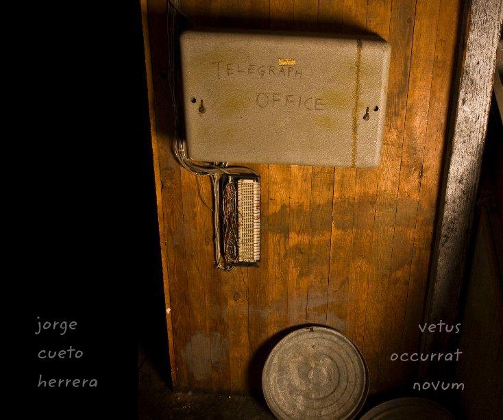 View vetus occurrat novum by jorge cueto herrera