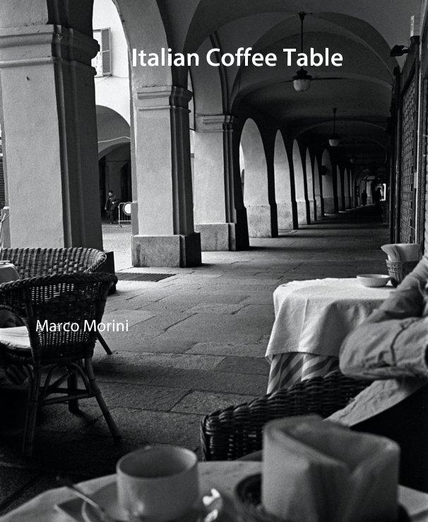 Italian Coffee Table By Marco Morini