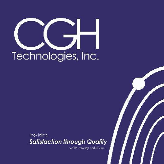 Cgh Technologies Inc Corporate Capabilities By Kamalatug Blurb Books