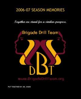 2006-07 SEASON MEMORIES book cover