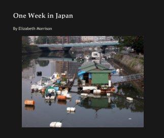 One Week in Japan book cover