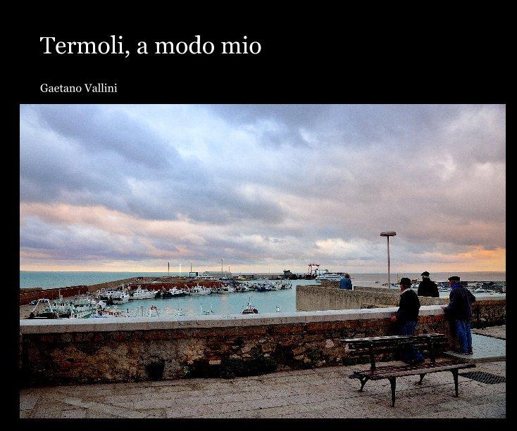 Visualizza Termoli, a modo mio di Gaetano Vallini