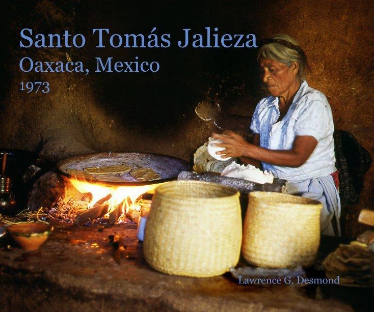View Santo Tomás Jalieza Oaxaca, Mexico 1973 by Lawrence G. Desmond