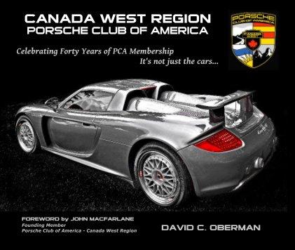 Porsche Club of America - Canada West Region book cover