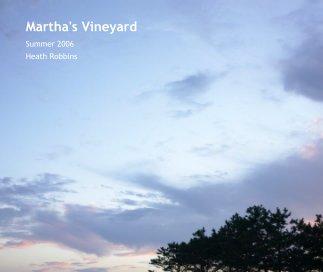 Martha's Vineyard book cover