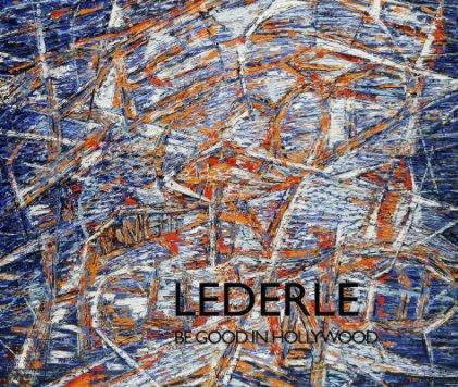 Hermann Lederle: Painting book cover