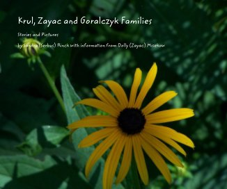Krul, Zayac and Goralczyk Families book cover