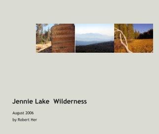 Jennie Lake  Wilderness book cover