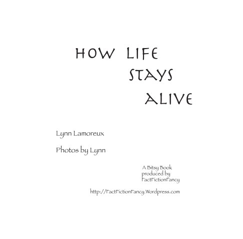View Life Stays Alive by Lynn Lamoreux