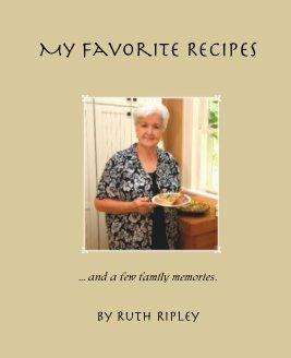 My Favorite Recipes book cover