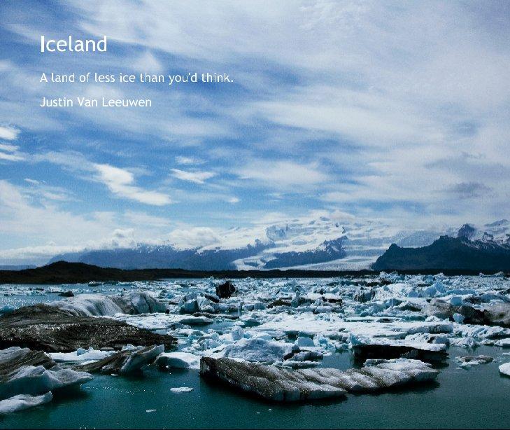 View Iceland by Justin Van Leeuwen