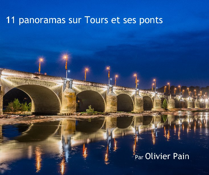 View 11 panoramas sur Tours et ses ponts by Olivier Pain
