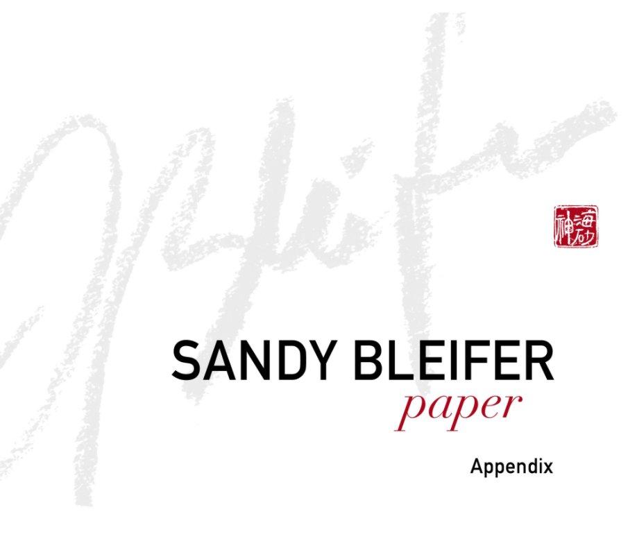 View Paper Appendix new by Sandy Bleifer