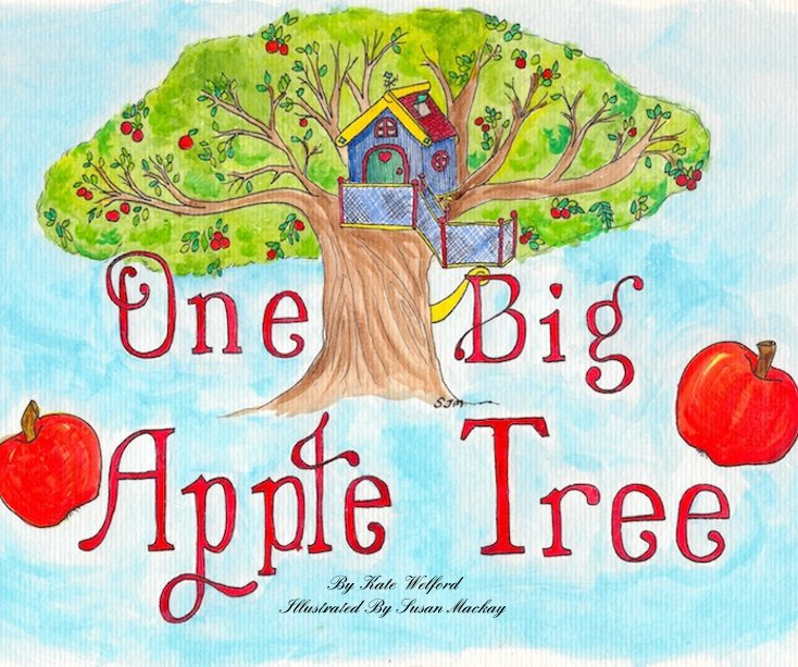 View One Big Apple Tree by Kate Welford