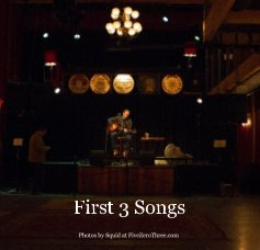 First 3 Songs 7x7 book cover