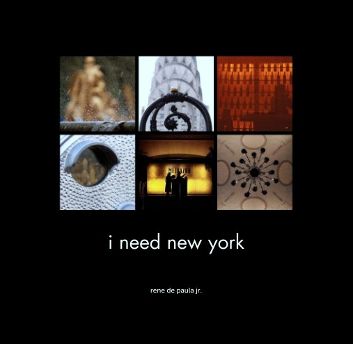 View i need new york by rene de paula jr.