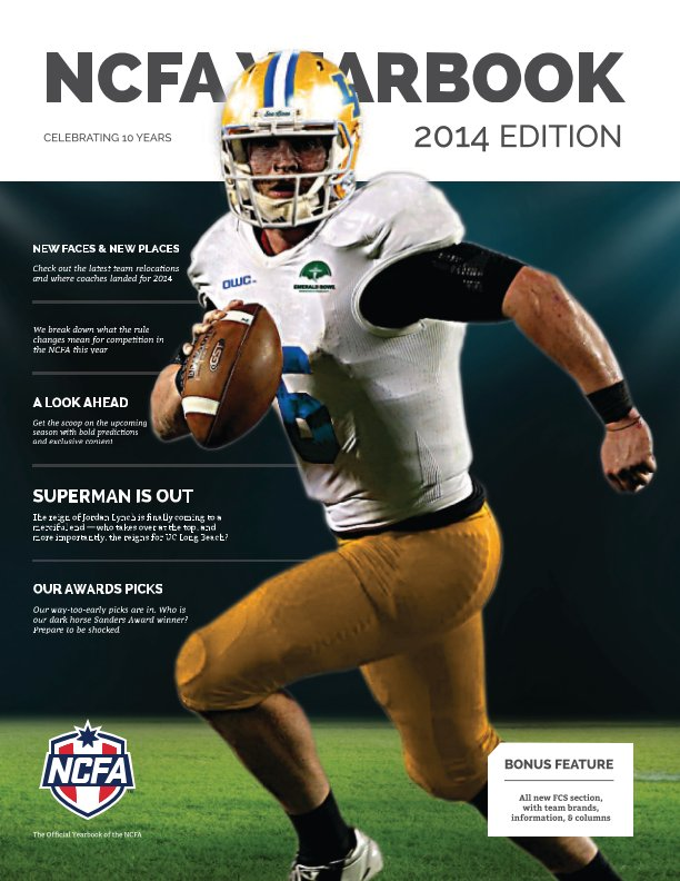 View The 2014 NCFA Yearbook by Doug Houvener, Scott Springer