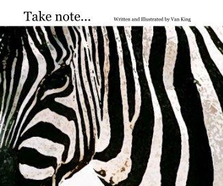 Take note book cover