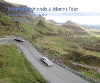 Scottish Highlands and Islands Tour book cover