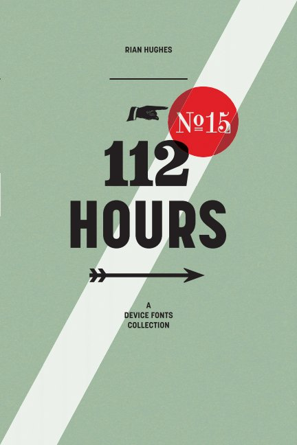 View 112 Hours (paperback) by Rian Hughes