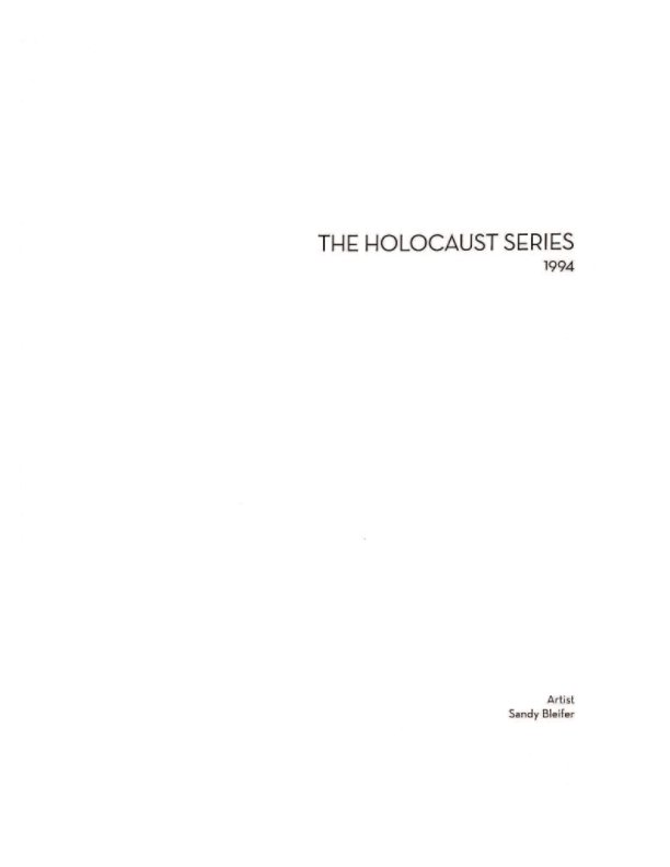 View THE HOLOCAUST by SANDY BLEIFER