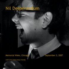 Nil Desperandum book cover