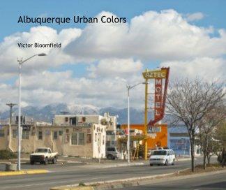 Albuquerque Urban Colors book cover