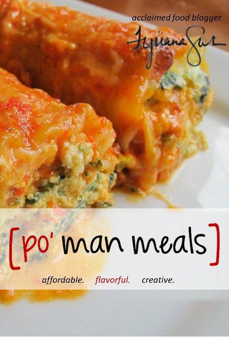 View po' man meals cookbook by tijuana smith