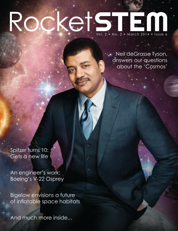 View RocketSTEM Magazine #6 - March 2014 by RocketSTEM Media Foundation