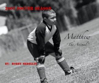 2007 Soccer Season book cover