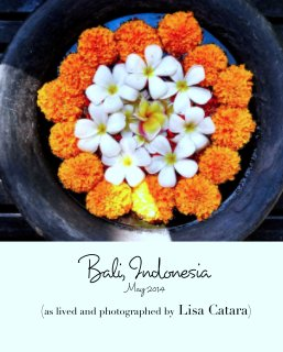 Bali, Indonesia book cover