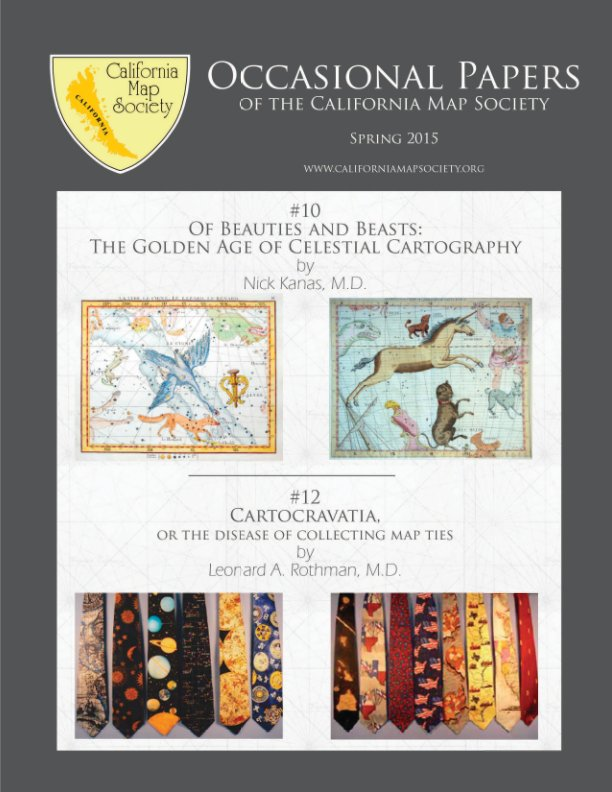 View Occasional Papers 10 & 12 Spring 2015 by California Map Society
