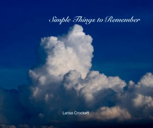 Simple Things to Remember book cover