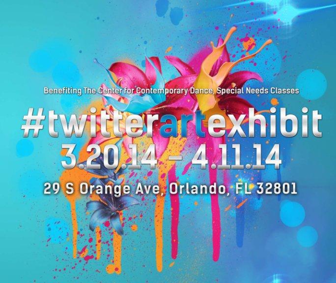 View Twitter Art Exhibit Orlando by Robin Maria Pedrero